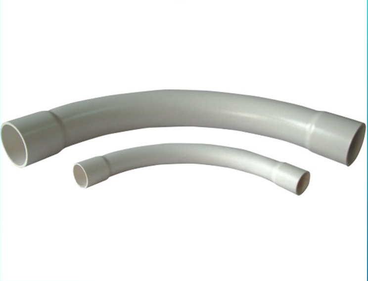 Pvc conduit fitting bend elbow long pipe