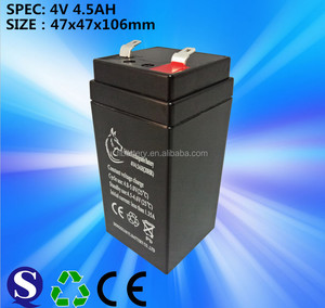 4 v 4.5 ah lead acid battery weighting scale battery