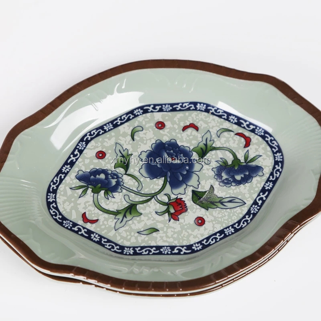 melamine plastic restaurant serving dishes snack sushi plate & Buy Cheap China plastic serving plates Products Find China plastic ...