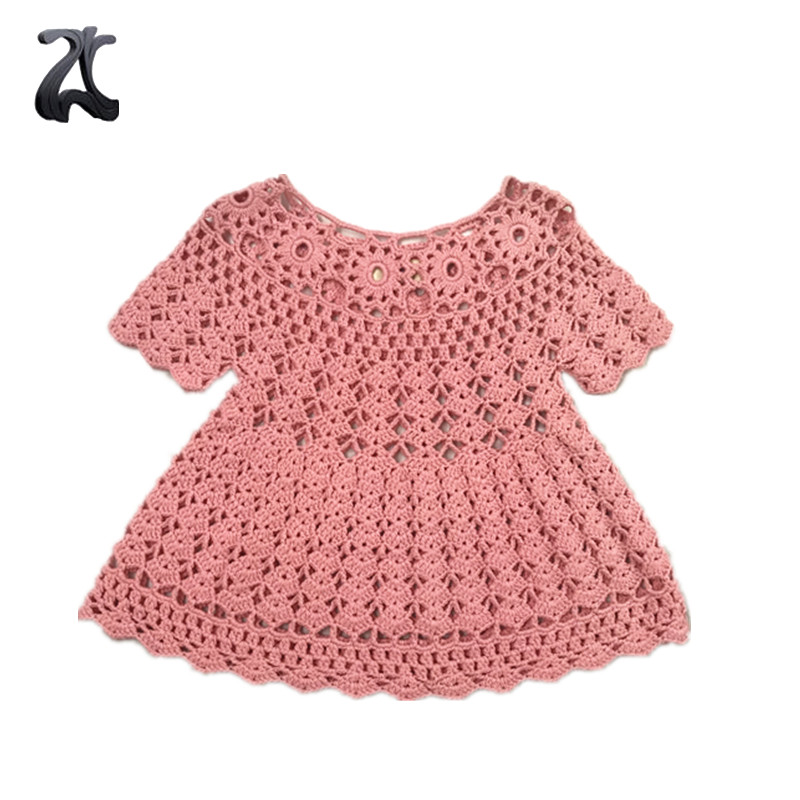 Dress Design 2018 Handgefertigte Strick-Babypullover