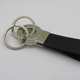 wholesale high quality genuine leather detachable key ring for men promotional