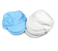 Easy to clean antistatic esd cap