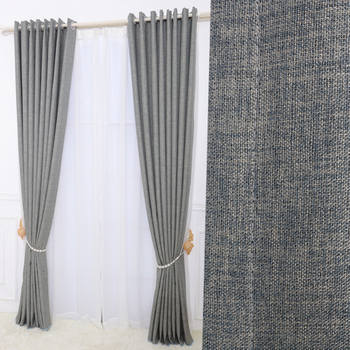 100 Polyester Grey Blue Wholesale Curtains And Drapeshotel Curtainsarabic For