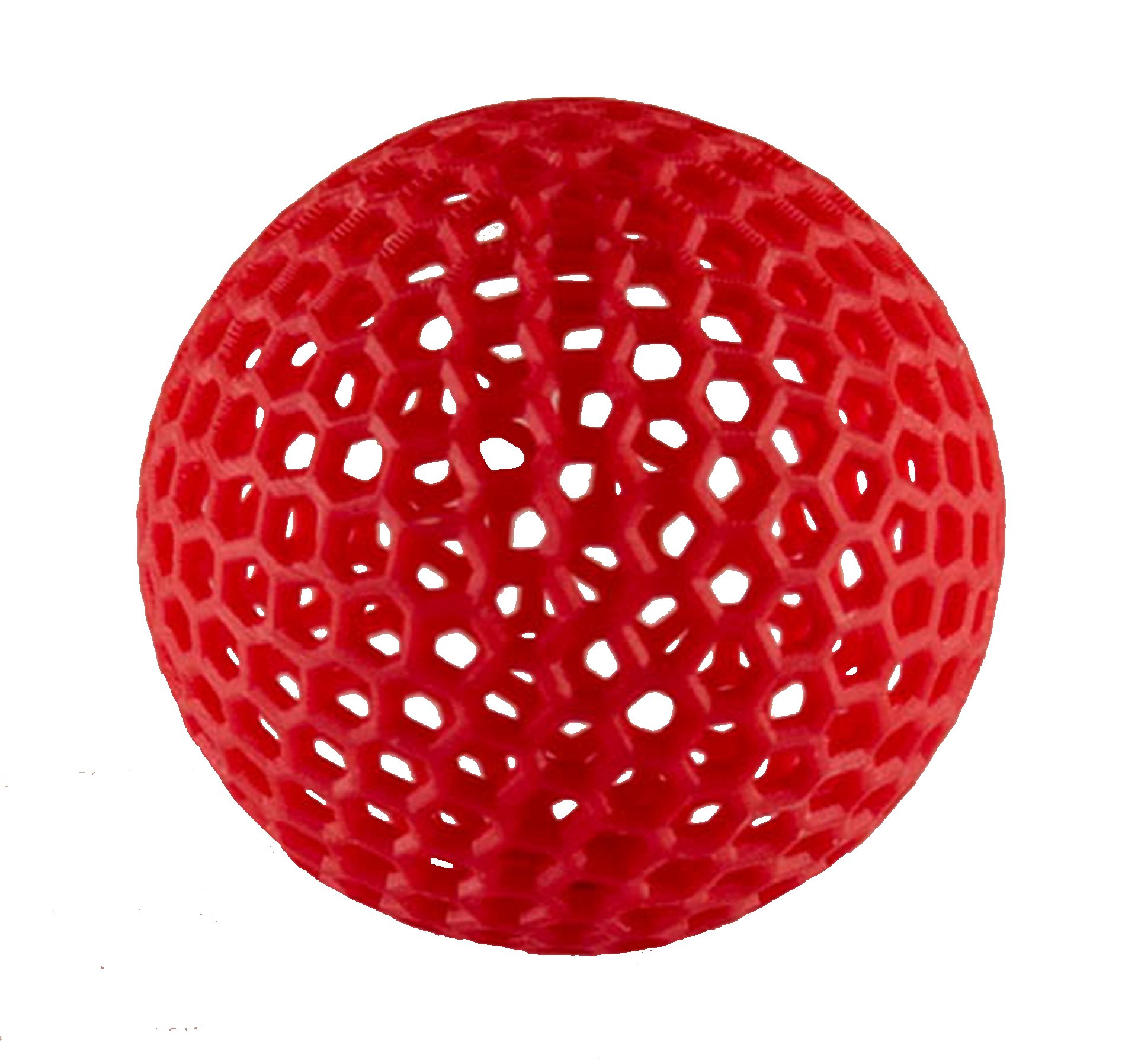 MakerJuice Red G+ UV 3D Plastic Printing Resin for SLA and DLP Printers (one 500 mL bottle).