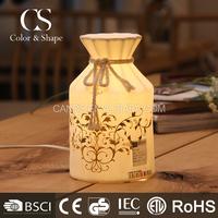 Clear modern porcelain bottle shape table lamps on sale