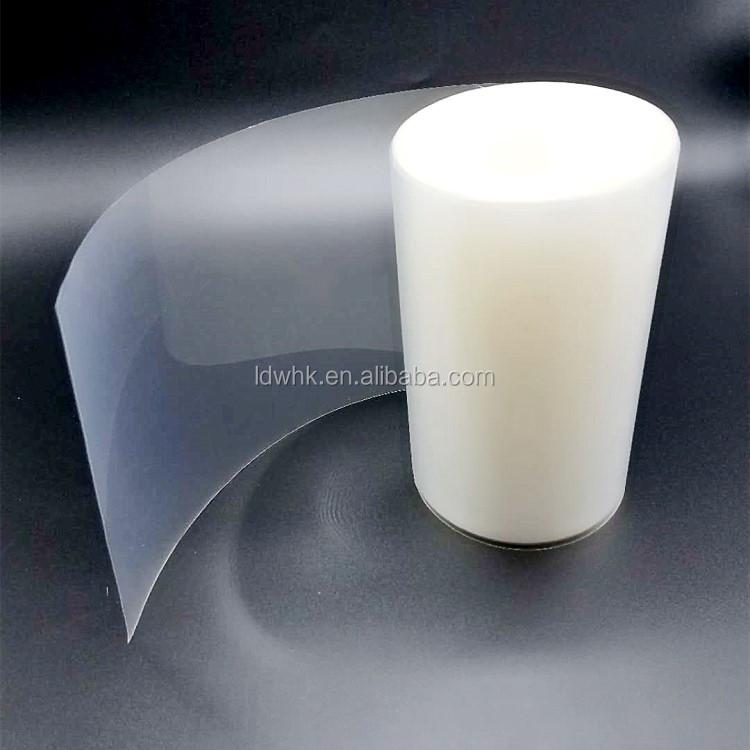 Clear plastic PE PVC PET Screen beschermfolie voor mobiele telefoon