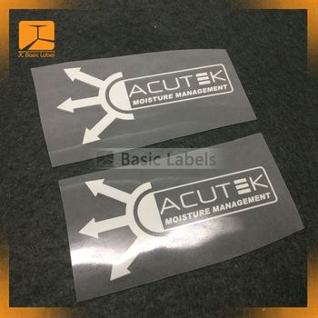 Promotional 3D garment clothing label heat transfer, rubber brand garments logo designs, garment pvc badge,