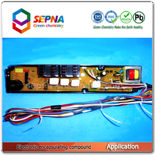 two component pcb electronic potting silicone SI2715A/B