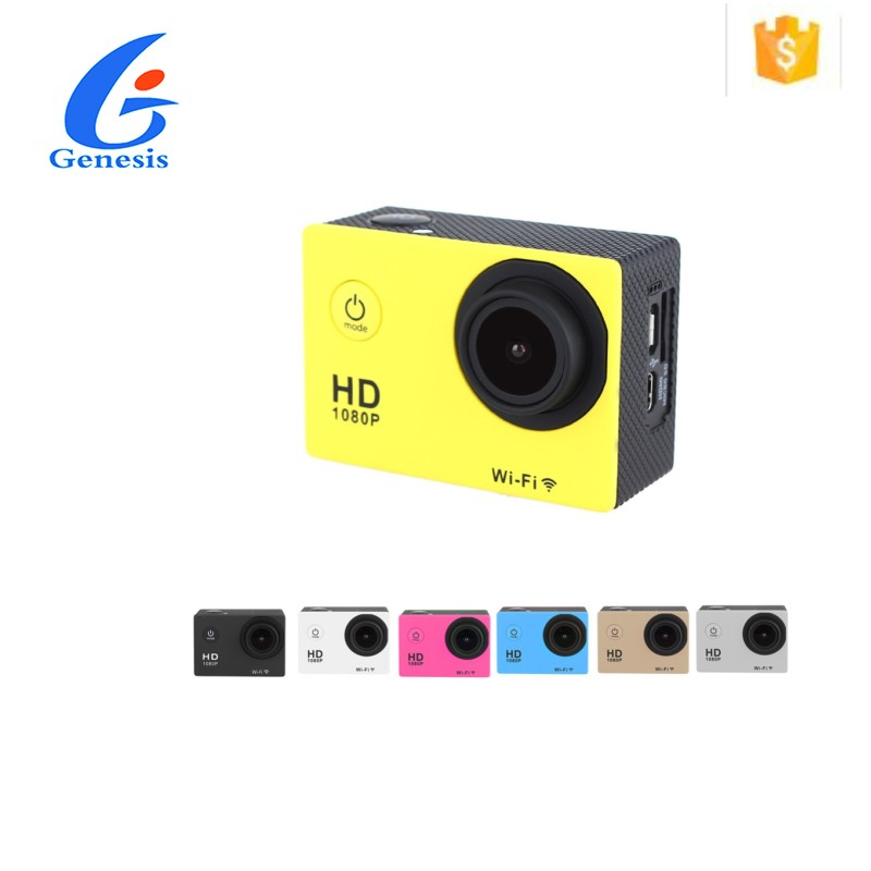 Outdoor WiFi Extreme photo video capturing Sports Camera 3x full hd 1080P video camera