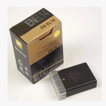 EN EL14 ENEL14 Rechargereable camera battery pack for Nikon D5100 D3100 P7100 P7000 P7700 D3200 D5200
