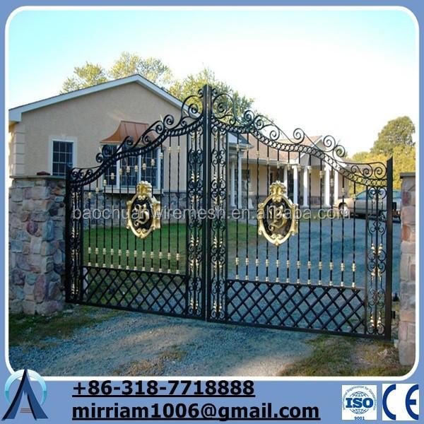 simple puerta de hierro al aire libre peatones puertas de hierro forjado puerta