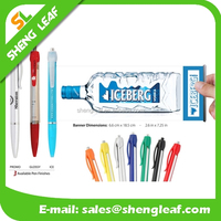 2016 newest and promotional pen with pull out paper