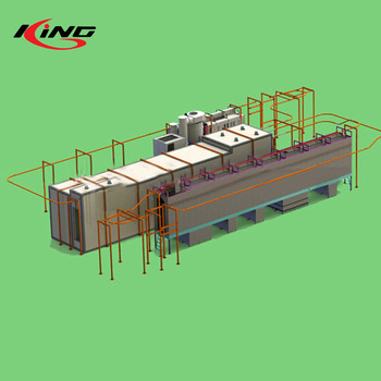 automatic automatic powder spray system coating line
