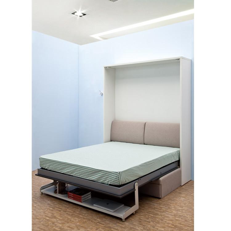 Muebles ocultos Murphy cama de pared con sofá con estante camas de ...