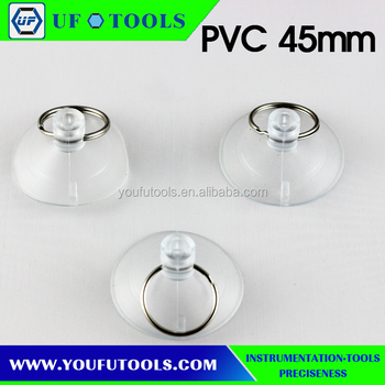 PVC45mm small clear suction cup For iPhone iPod Repair Tool Kit