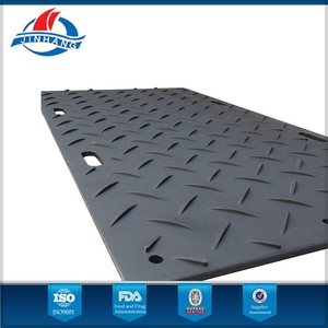 anti-slip HDPE temporary flooring mats for sale