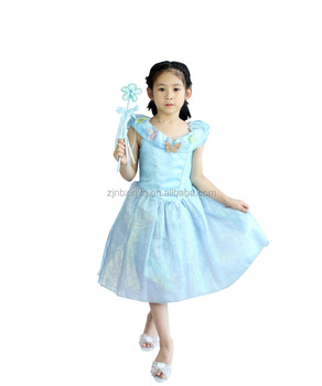 Hot Cinderella Dress Children Up Cosplay Costume Custom Made