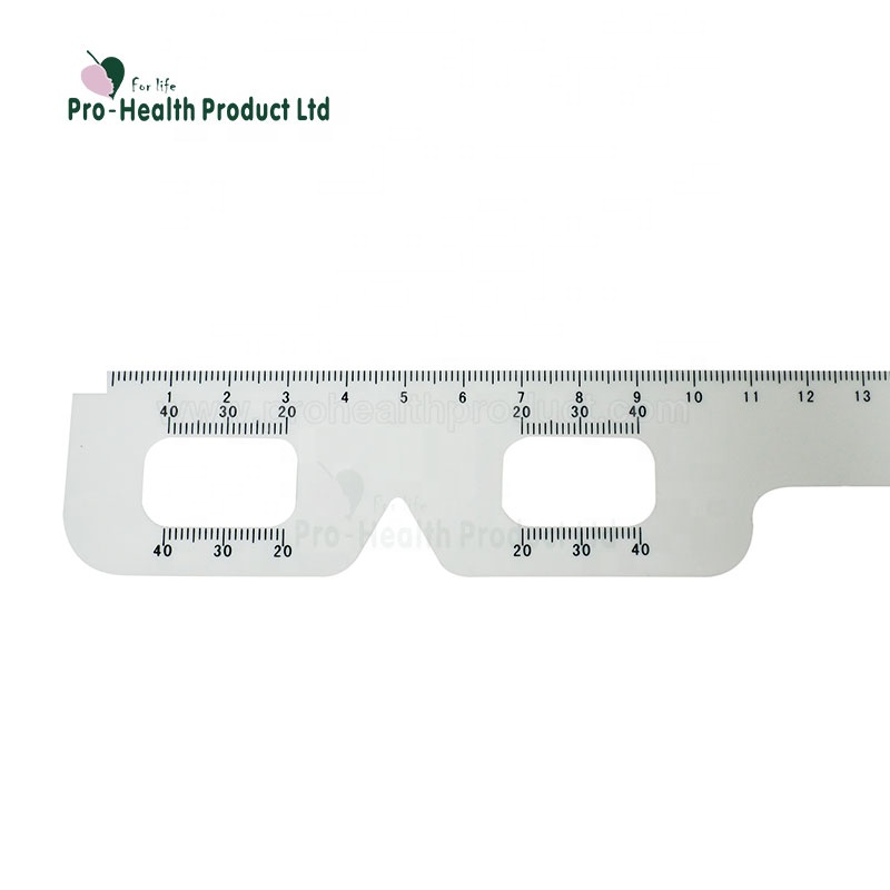 Ophthalmology Equipment Plastic Pupilometer Pd Meter Ruler Multifunction Optical Eye Occluder