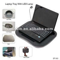 Cooskin lap desks with storage with LED light