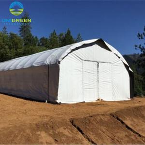 Cheap film tunnel mushroom greenhouse