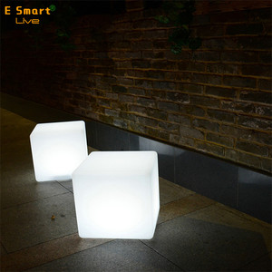 LED light-emitting furniture fashion cube stool fine shining glow cubic/tea table/shine chair