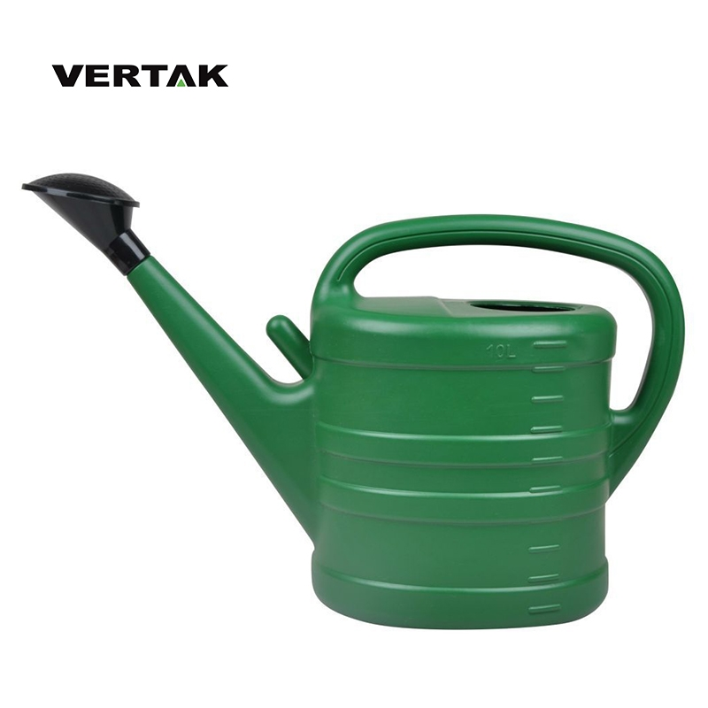VERTAK Garden 10L Colorful plastic watering can with rose design