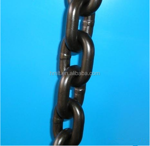 10mm G80 Black Large Welded Link Chain