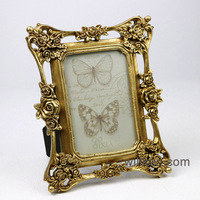 Handmade gold frame photo frame designs for wedding souvenirs