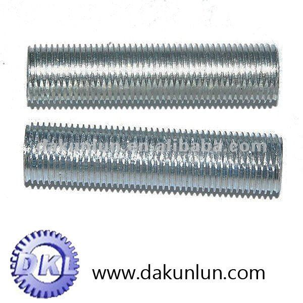 Galvanized flat tube/pipe thread