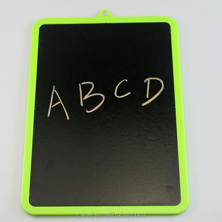 School Custom Children Mini Memo Advertisement Notice Kids Writing Erasable Slate Board Chalk Blackboard