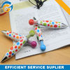 2014 Jumbo Lovely Dot Printing Plastic Ball Pen