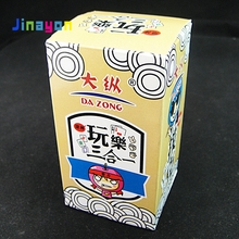 Jinayon Groothandel Custom Mahjong Poker Drie-in-een Board Game Card