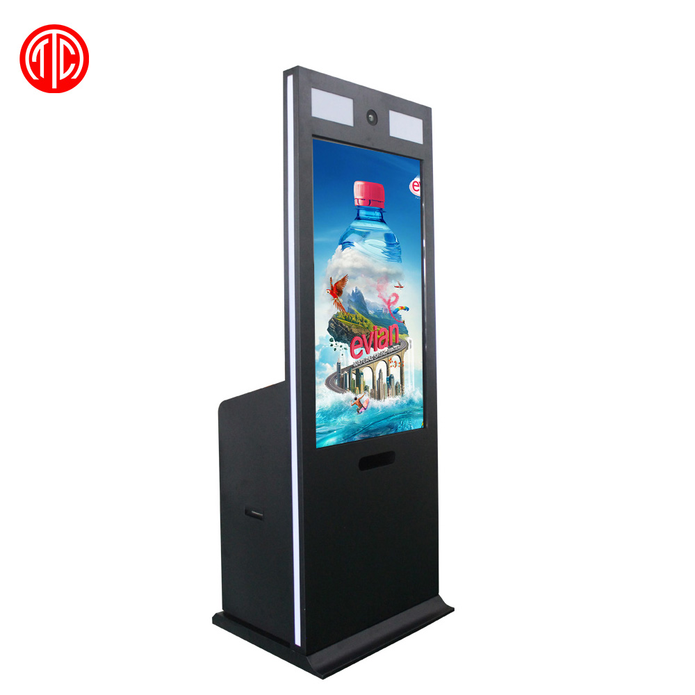 42 inch indoor interactive information digital signage kiosk with camera