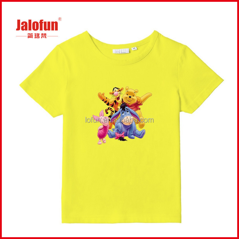 Custom printed t shirt 100 cotton export quality