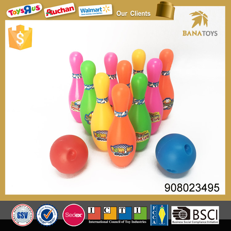 Popular trend toys bowling ball with pins