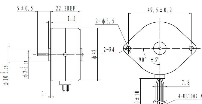 Micro Synchronous Motor Mini Efficiency Synchronous Motor