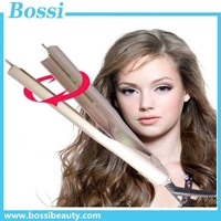 2017 hair styling tools iron straighten and curl 2 in 1 curling iron