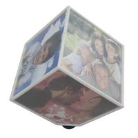 Magic Cube Rotating Photo Frame, Hot Selling Rotating Photo Cube