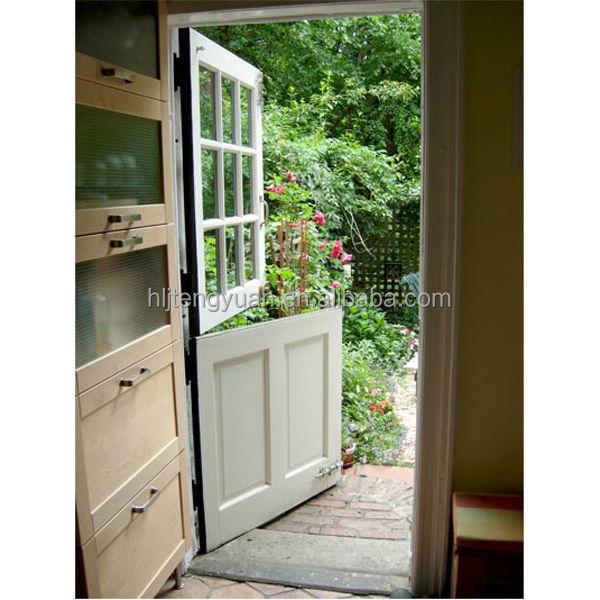 Traditional Clic Exterior Wood Half Door