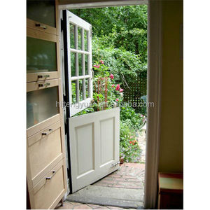 Traditional Classic Exterior Wood Half Door