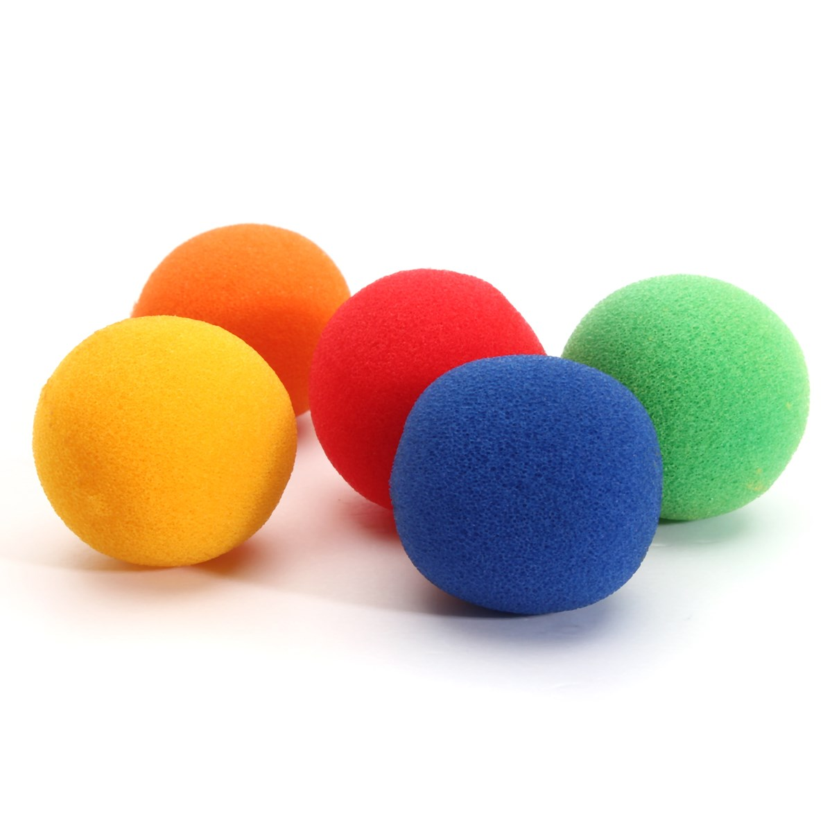 Excellent quality 3.5cm Medium size Colorful Close Up Magic Street Classical Comedy Trick Soft Sponge Balls