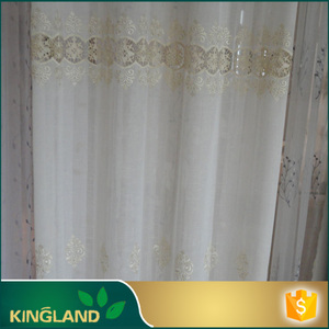 High quality Hotel Window eyelet embroidery fabric