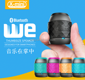 X-mini WE Portable Bluetooth For Smartphone Thumbsize Speaker Bluetooth Speaker For Smartphones