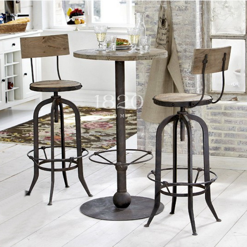 american vintage wrought iron tables and chairs can lift. Black Bedroom Furniture Sets. Home Design Ideas