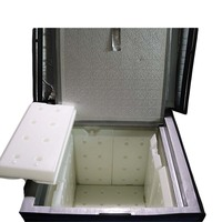 PU foam material lightweight and durable cool cooler insulated box with vip panels