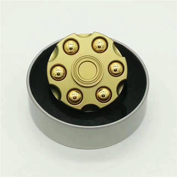 newest top selling hand spinner toy, direct factory with super quality and quick delivery Revolver bullet