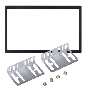 Universal 2 Din Plastic Fitting Frame Kit Car Radio Head Unit Installation Frame 2din Auto DVD Radio Stereo Player Fitting Case