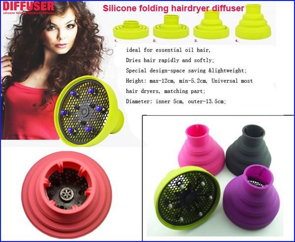 Professional hairstyling easy curl hair diffuser in Beauty & Personal Care travel hair dryer with diffuser