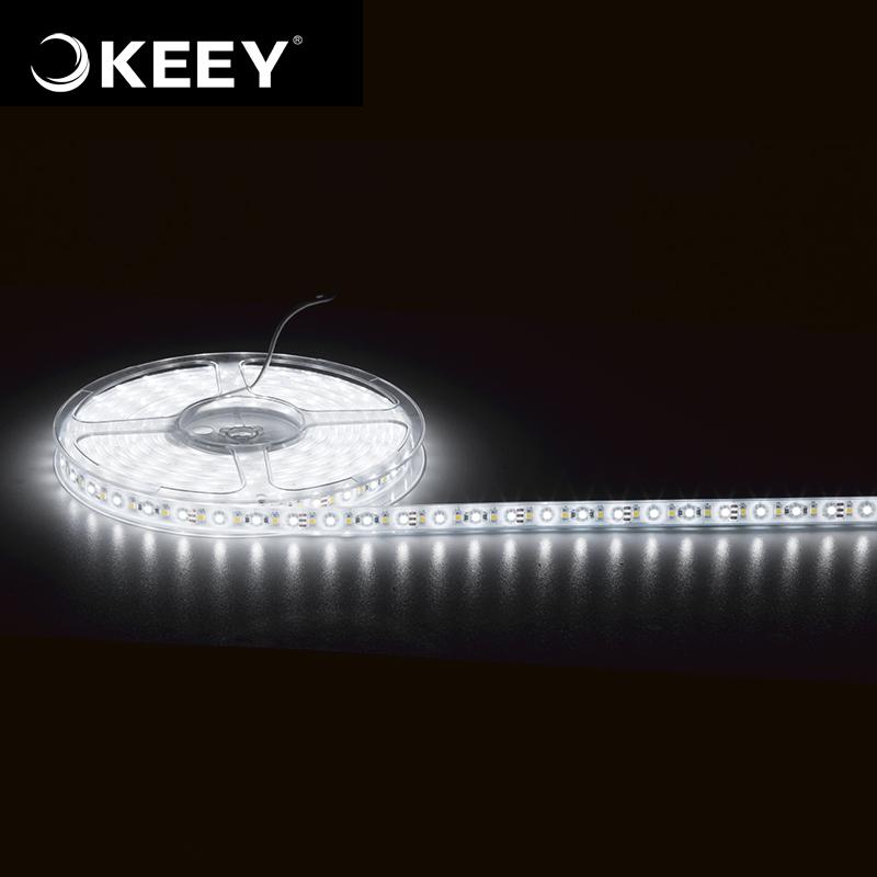 KEEY White Color New Brand DC12V / 24V 60led/meter SMD5050 Strip Light Led QY-603C-1