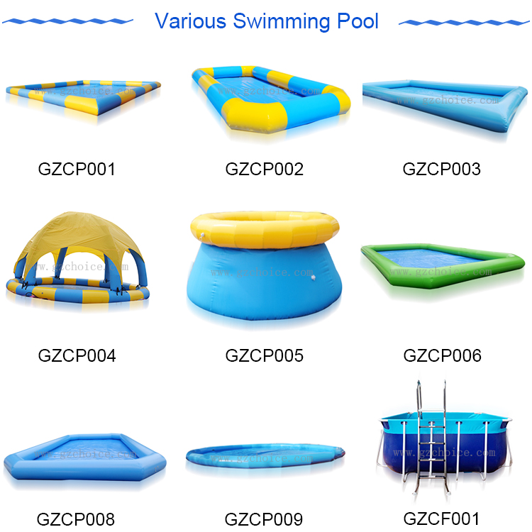 Hot Selling Customized PVC Inflatable Water Swimming Pool Kids Inflatable Swimming Pool